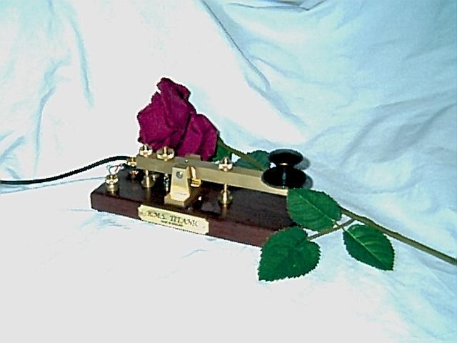 Titanic replica key..