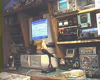 My SSTV operating position.